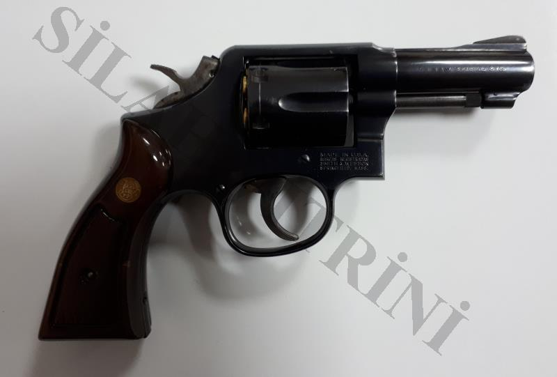Temiz Smith Wesson 38 Cal