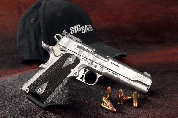 SIG SAUER 1911 TRADITIONAL MATCH ELITE 9 mm (YENİ !) TÜRKİYE DE TEK!!!