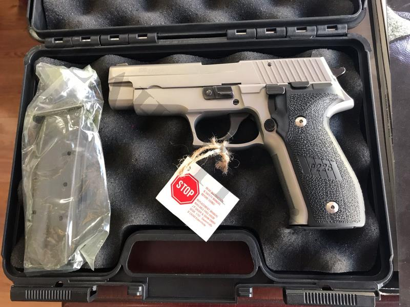 Sig Sauer P 226 Stainless