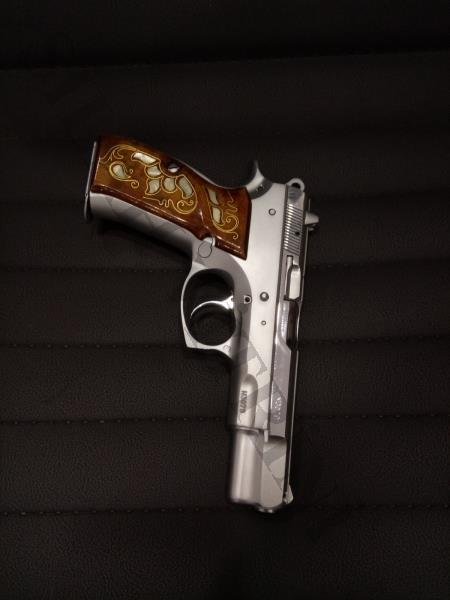 Cz 75 B Yeni Model Stainless