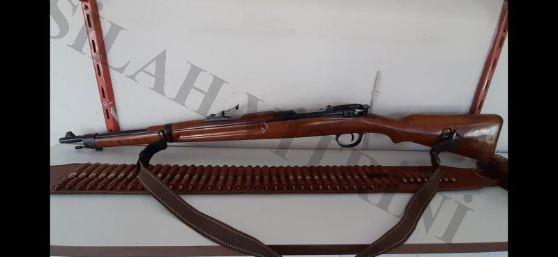 200 ADET MERMİ YİVLİ STEYR MODEL 1903 6.5X54 MM