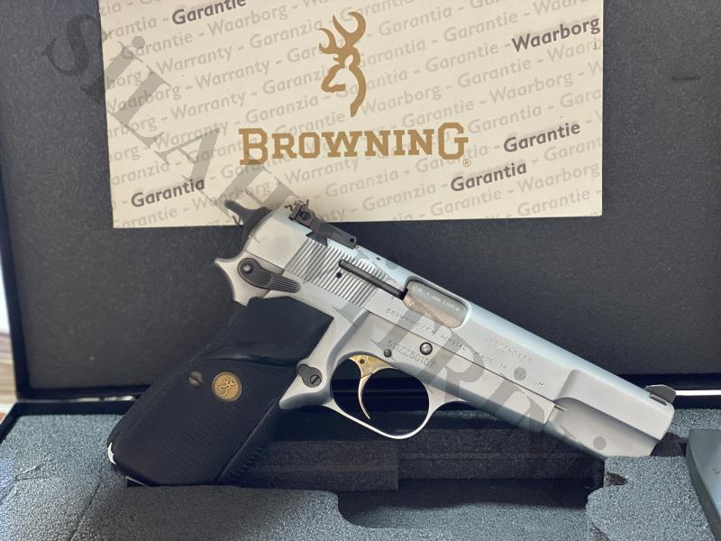 BROWNING FN HERSTAL SILVERCROHME