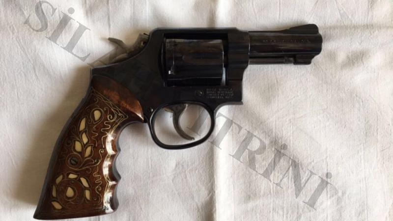 Smith Wesson Toplu Tabanca- 38 calibre Mod 36 model